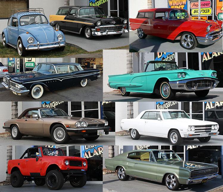 Custom Car Stereo - Classic Car Stereo
