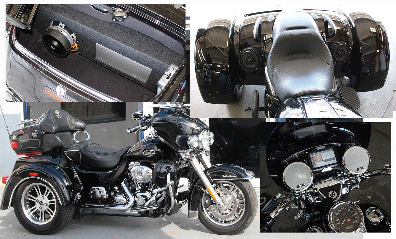 Harley trike Stereo