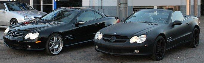 Mercedes SL Stereo